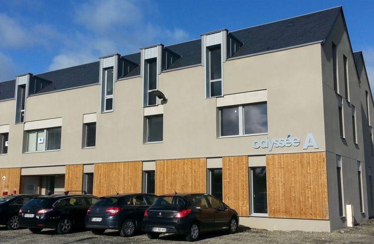 Bâtiment Odyssée - Saint Malo