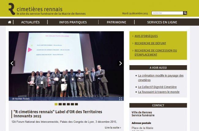 Cimetières de Rennes
