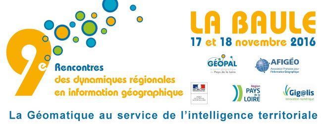 Alkante est partenaire des 9es Rencontres des dynamiques régionales en information géographique