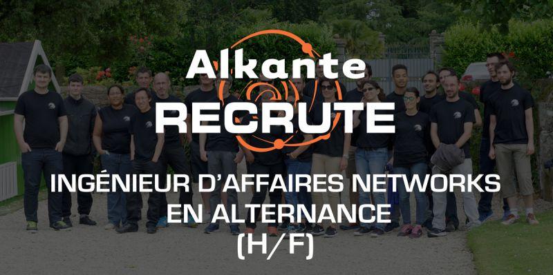 Nous recherchons un(e) Chargé d'Affaires NETWORKS en alternance